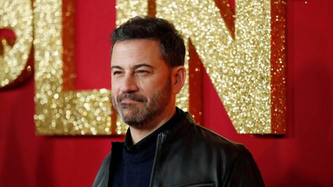 """Emmy-presentator Jimmy Kimmel bereidt zich voor op 'prachtige ramp': """"Als de WiFi uitvalt, is het gedaan"""""""