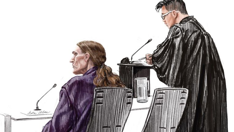 Brugwachter Saco H. in de rechtbank Beeld Petra Urban