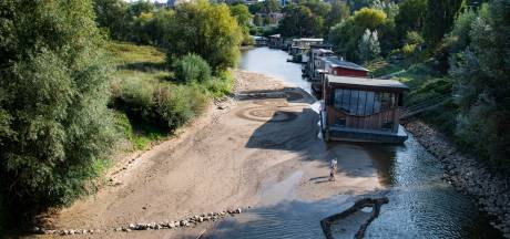 Nergens is het nu zó droog als in de Liemers en rond Nijmegen: 'Dit is de nieuwe werkelijkheid'