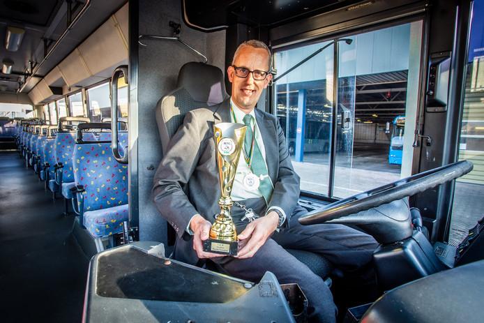 Jaap is wereldkampioen behendigsheidsrijden.
