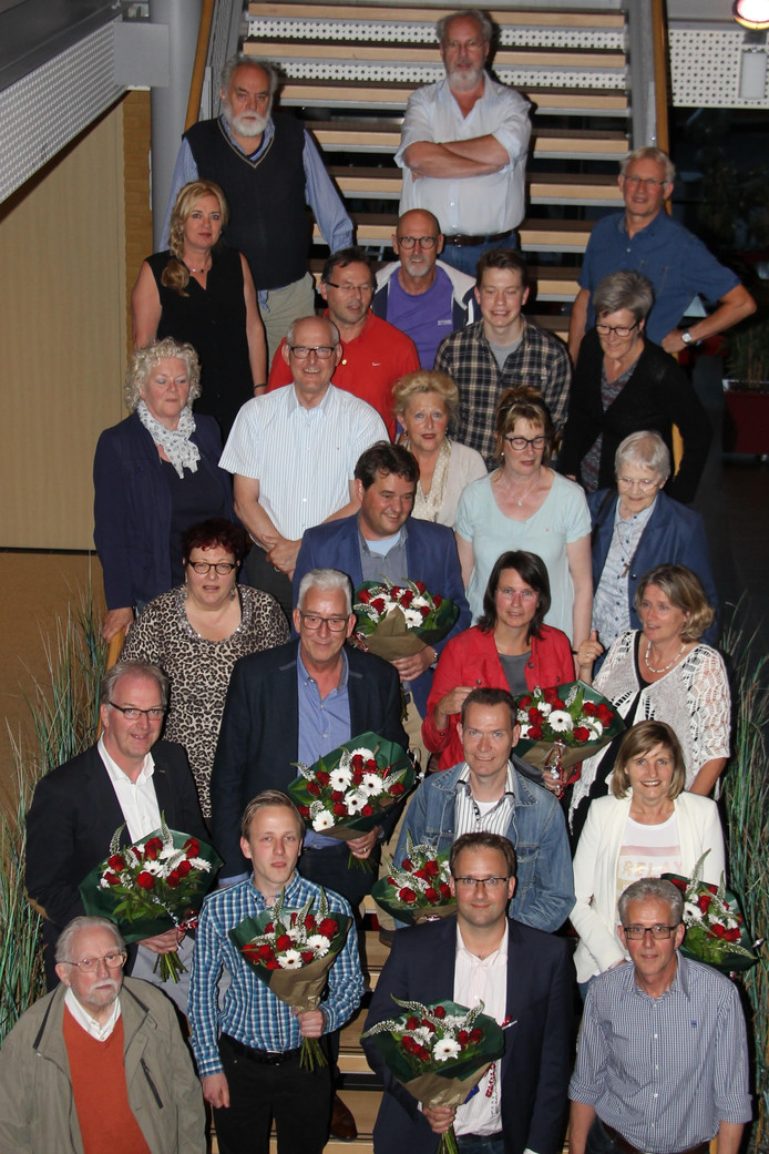 Groepsfoto van de PvdA Meierijstad.