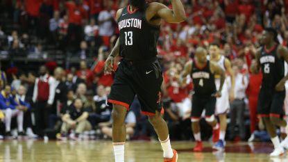 Houston trekt stand in evenwicht tegen Golden State, sterspeler Harden genomineerd voor MVP-award
