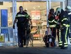 Inbrekers proberen geldautomaat in Albert Heijn Berkel-Enschot open te branden