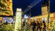Meteen heel wat volk voor Kortrijks kerstgebeuren