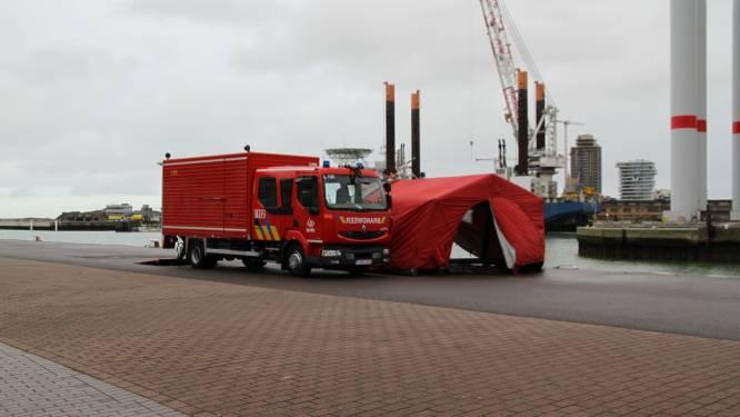 Levenloos lichaam aangetroffen in Nieuwpoortse havengeul