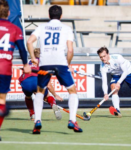 HC Tilburg raakt verder achterop na nederlaag bij HC Rotterdam