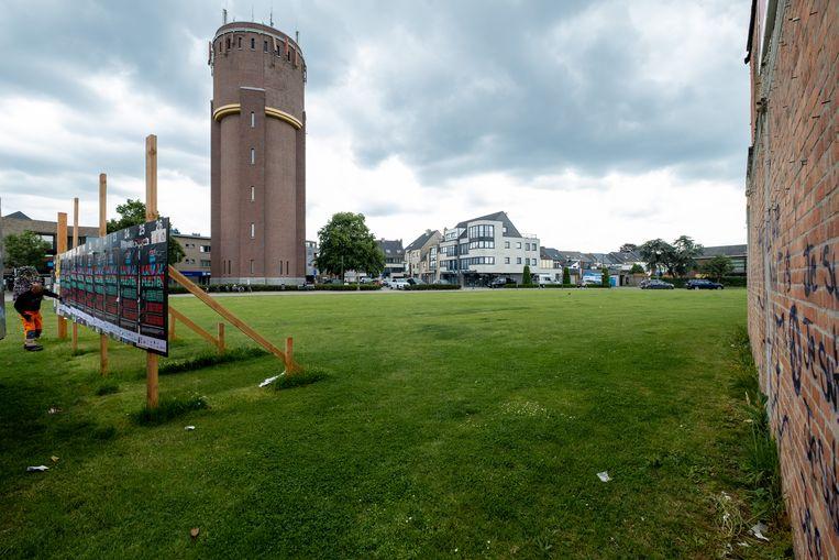 De Site Cash Fresh aan de watertoren van Willebroek