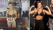 MMA-diva gaat over de tongen vanwege haar... borsten