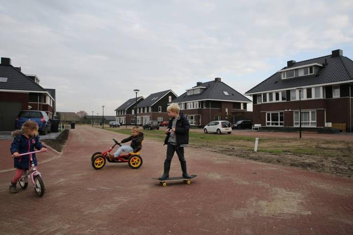 Een sfeerbeeld in De Hoffelijkheid, onderdeel van Holthuis Oost in de nieuwe wijk De Schaker.