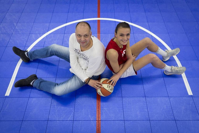 Patrick Kathmann en Lisanne de Jonge. Foto: Erik van 't Hullenaar