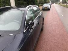 Auto's vernield aan de Bakenbergseweg in Arnhem