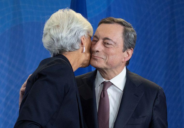 De 'whatever it takes'-uitspraak van Mario Draghi in 2012 veranderde alles. Beeld null