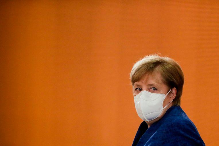 Angela Merkel. Beeld Hollandse Hoogte / AFP