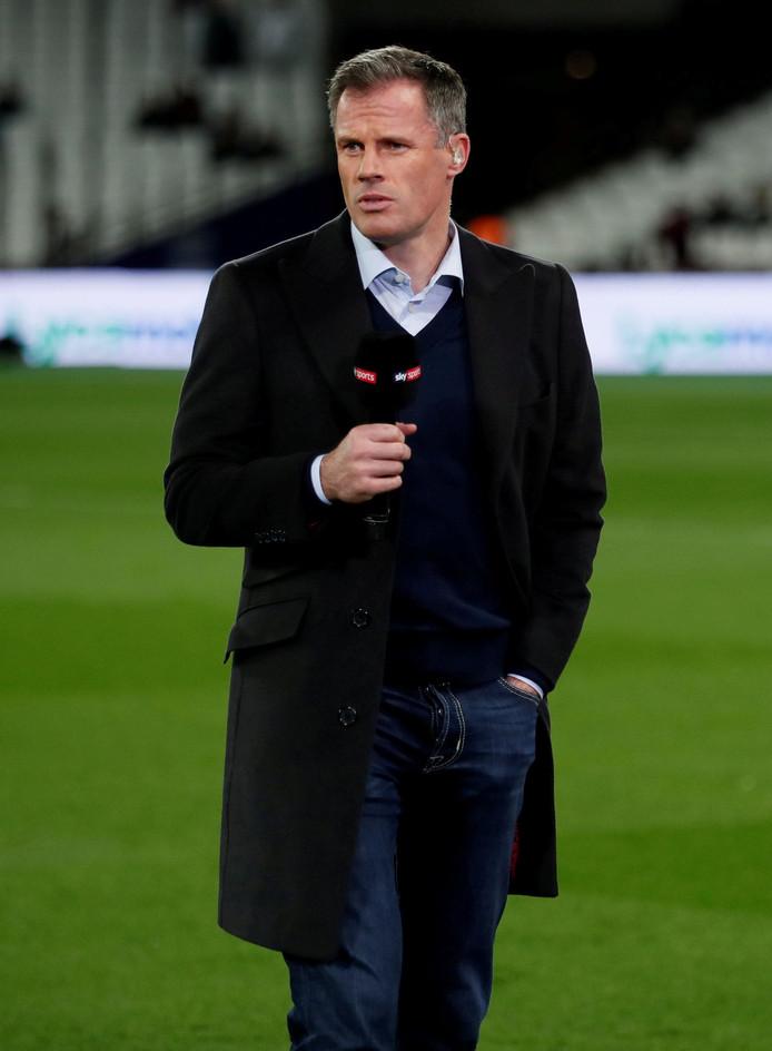 Jamie Carragher is door zijn werkgever Sky Sports geschorst voor de rest van het seizoen.