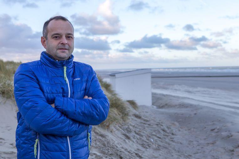 Wim Hellinx treedt op namens de misnoegde tweedeverblijvers van Nieuwpoort.