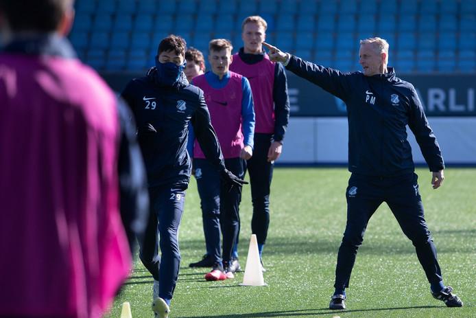 FC Eindhoven trainde donderdag voor het laatst