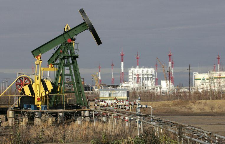 Eén van de voormalige olievelden van het Russische oliebedrijf Yukos. Beeld afp