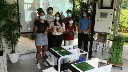 Leerlingen van Githo Nijlen ontwerpen ecologisch station en winnen nationale wedstrijd van NMBS