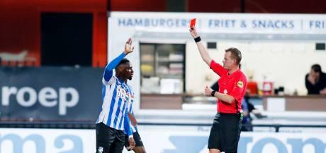 Geschorste Kabangu (FC Eindhoven) mist derby tegen Helmond Sport