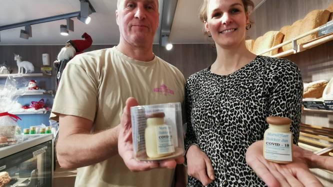 """Izegemse bakker pakt uit met marsepeinen coronavaccin: """"Niet het eerste, wel het lekkerste"""""""