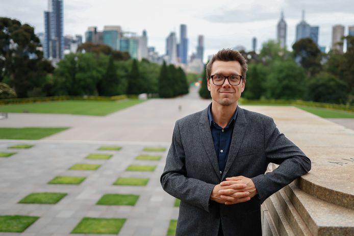 Richard Heersmink uit Den Ham maakt carrière als wetenschapper in Australië.