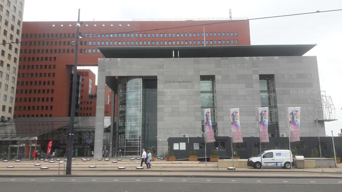 De rechtbank in Rotterdam.