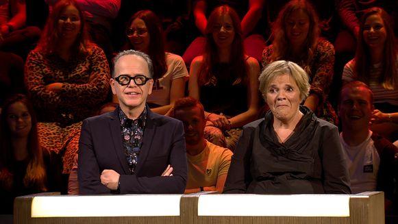 """Met Marc-Marie in de jury. """"Ik vind hem een enorm grappige man"""", zegt Margriet."""