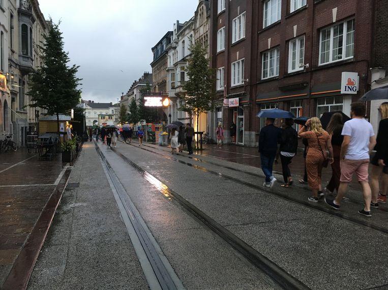 Gentse Feesten in de regen, 's avonds 21 uur