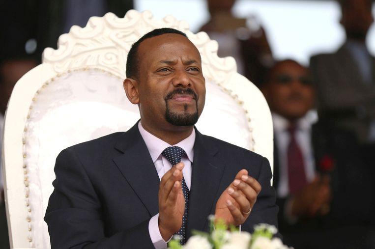 De Ethiopische premier Abiy Ahmed. Beeld REUTERS