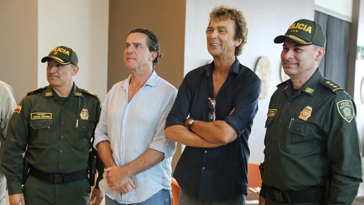 Zo verliep de vrijlating van Derk Bolt en Eugenio Follender