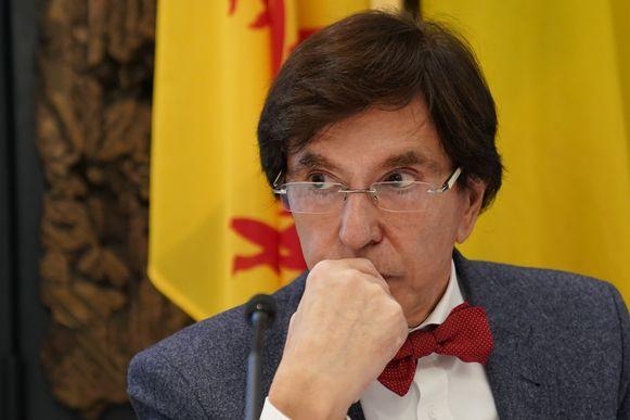 Waals minister-president Elio Di Rupo. De oud-PS-voorzitter was tussen 6 december 2011 en 11 oktober 2014 Belgisch premier.