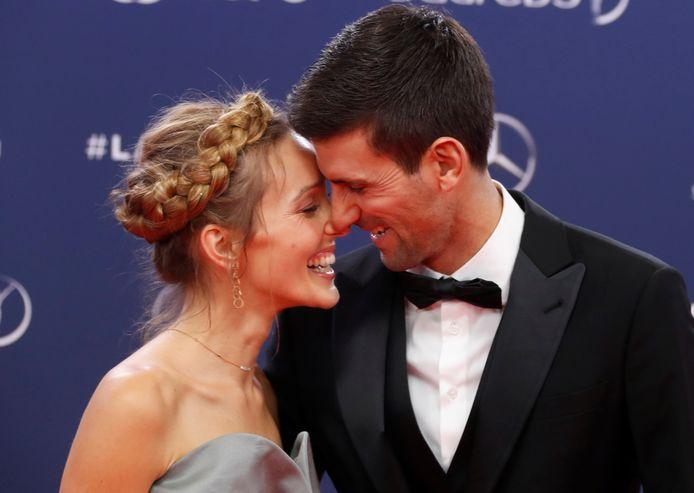 Novak et Jelena Dokovic