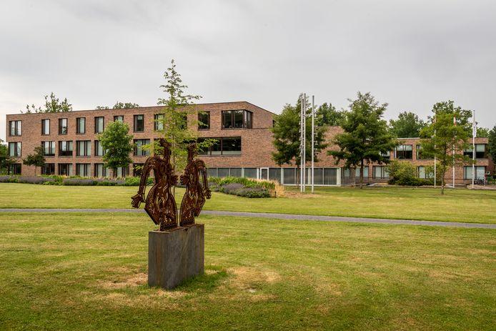 Het gemeentehuis in Beek en Donk