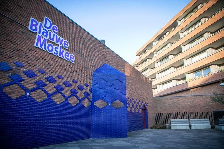 De Blauwe Moskee in de Amsterdamse wijk Nieuw-West. Beeld ANP
