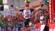 Vluchter Mohoric soleert naar zege in langste Vuelta-etappe, De Gendt vierde