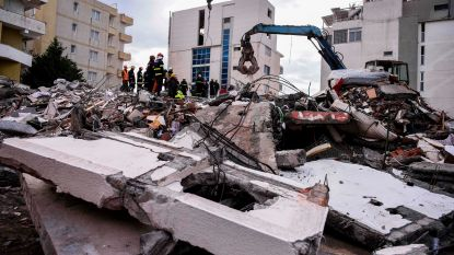 Dodental aardbeving in Albanië stijgt naar 40