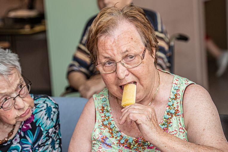 Een ijsje smaakt zeker met dit warme weer!