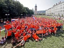 Het mag toch: voor WK-finale wél Oranje-fanzone in Lyon