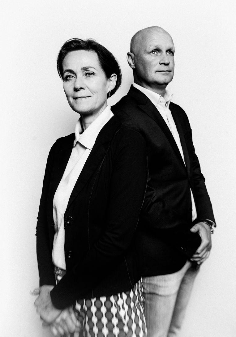 Holleeder-aanklagers Sabine Tammes en Lars Stempher werkten ruim vier jaar intensief samen. Beeld Jitske Schols