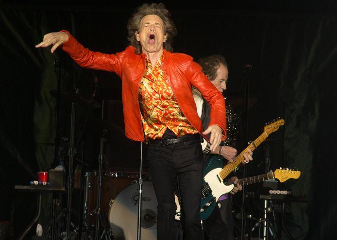 Mick Jagger bij The Rolling Stones