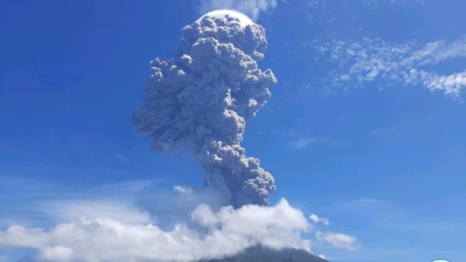 Indonesische vulkaan barst twee keer uit in drie dagen tijd