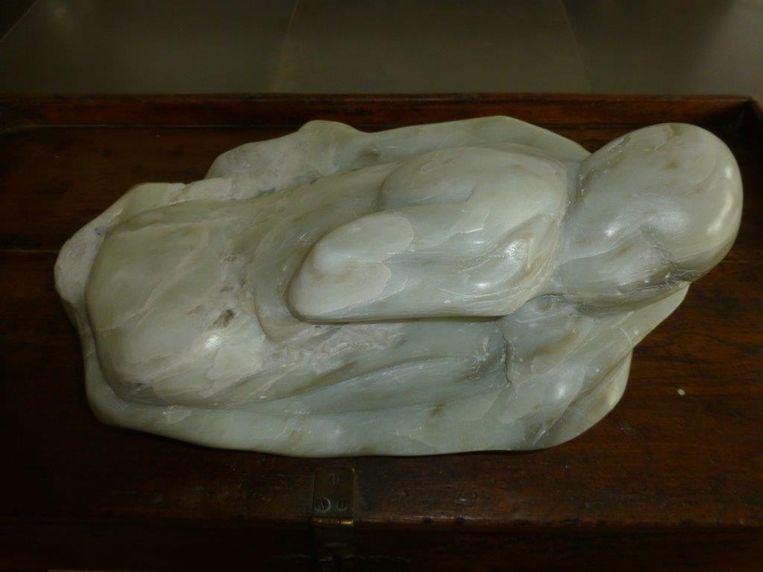 Een beeldhouwwerk van Jo Ceelen