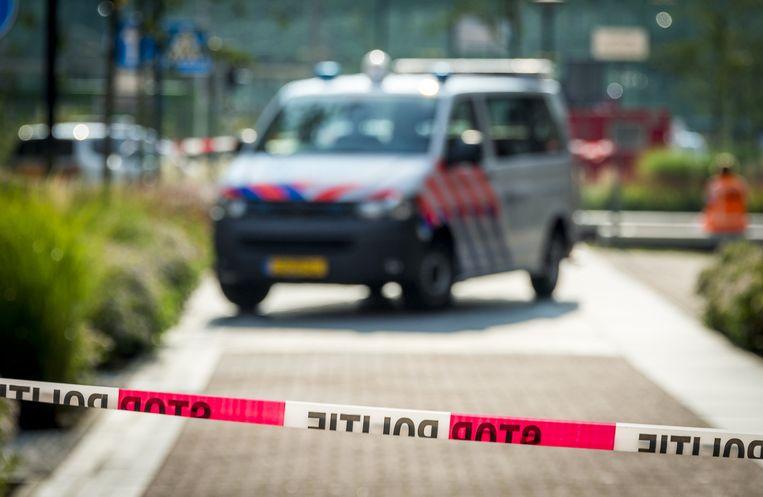 Een door de politie afgezet terrein. Beeld anp