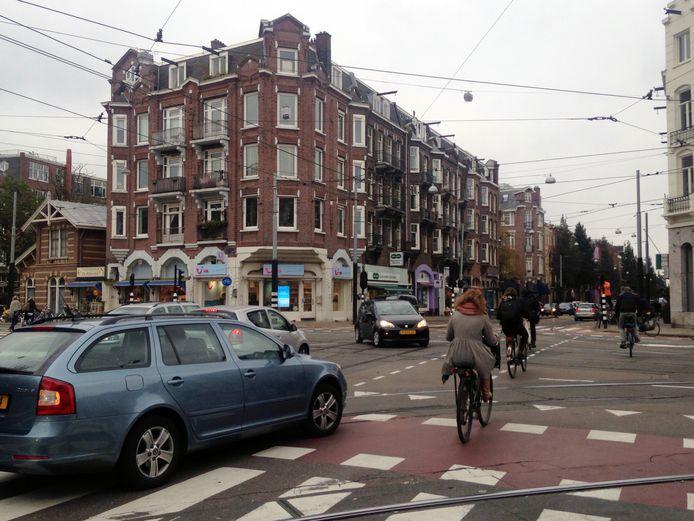 Gevaarlijke kruispunten Amsterdam, Zeilstraat - Amstelveenseweg.