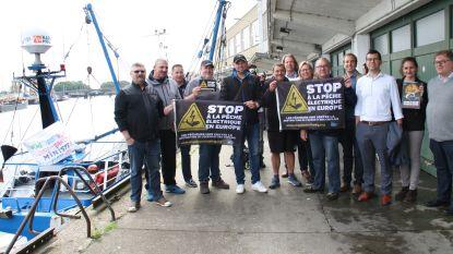 """Vissers voeren actie tegen elektrisch vissen: """"Vlaamse vissers hebben het al moeilijk genoeg"""""""