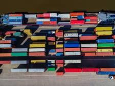 Buitenhaven Amelo uitgediept en aangepast voor grote containerschepen