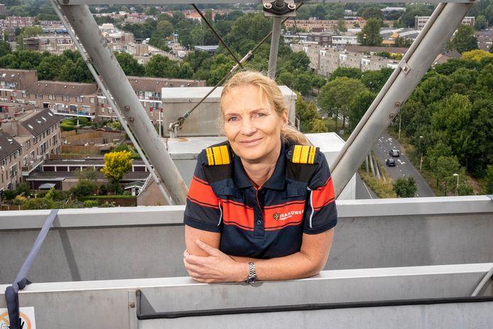 Esther Lieben (55), directeur Veiligheidsregio Haaglanden en brandweercommandant Haaglanden.
