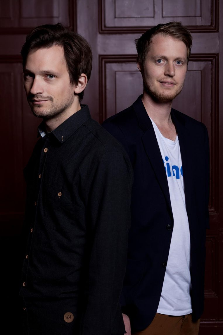 De Gier: 'We streven ernaar snel acht succesvolle podcasts te maken' Beeld Mark van der Zouw