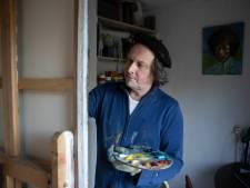 Nijmeegse schilder ziet positieve kanten in van kunstroof: 'Het zou het begin van een nieuwe wereld kunnen zijn'