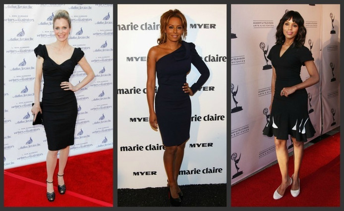 The Little Black Dress in al zijn varianten.